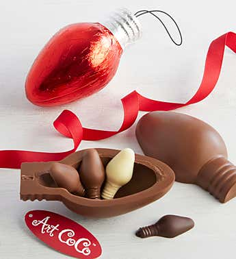 Art CoCo Chocolate Light Bulb with Surprise