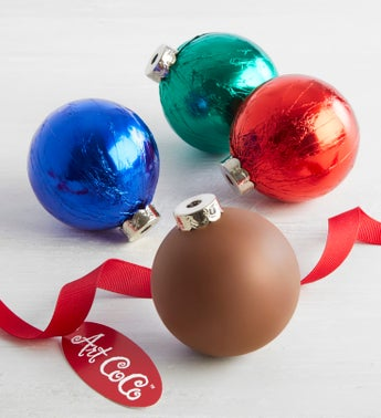 Art CoCo Semi-Solid Chocolate Ornaments - 3 ea