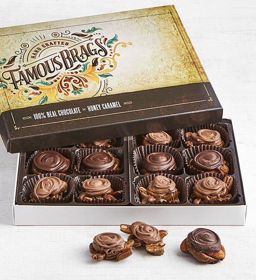 The Sweet Shop Famous Brags Chocolates Box 12pc