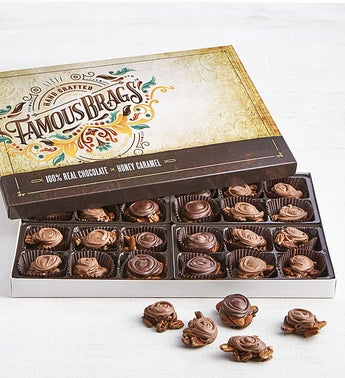 The Sweet Shop Famous Brags Chocolates 24pc