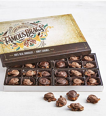 The Sweet Shop Famous Brags® Chocolates 24pc