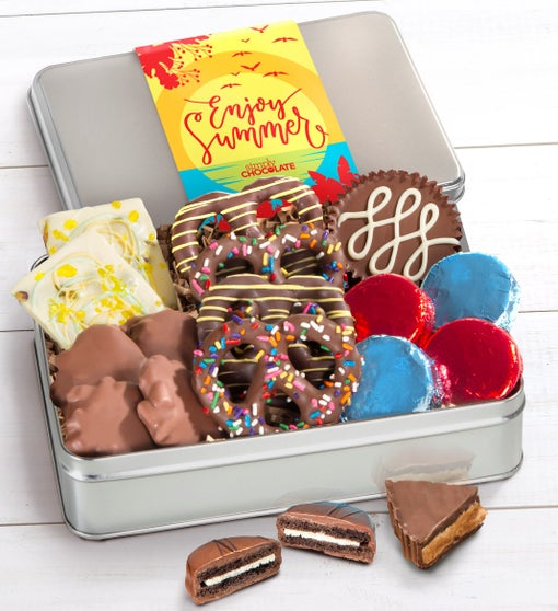 Simply Chocolate Enjoy Summer Confections Tin