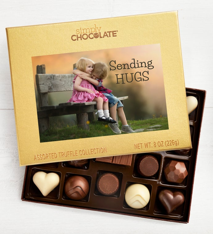 Sending Hugs 19pc Chocolate Box