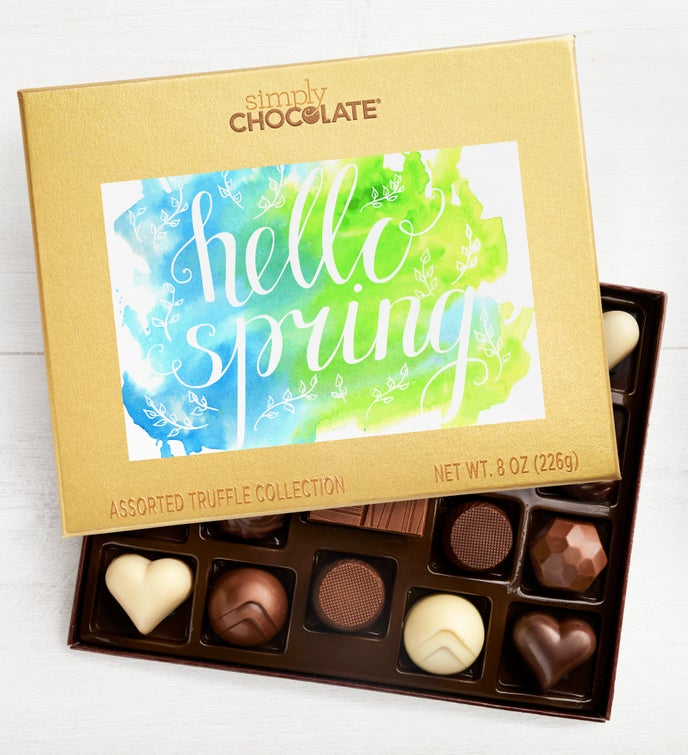 Hello Spring 19pc Chocolate Box
