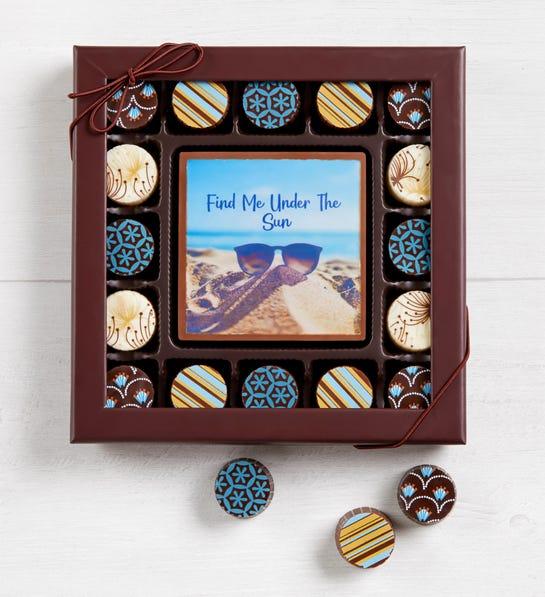 Simply Chocolate Summer Bar & Truffles (17 Pieces)