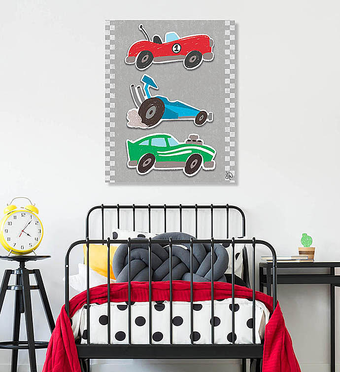 Crayon Race Cars