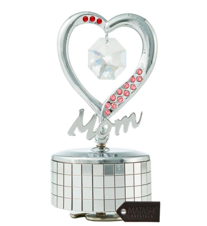 Mom Heart Wind-Up Music Box Love Story