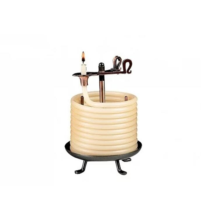 Self Extinguishing Coil Candle Unscented 60 Hour