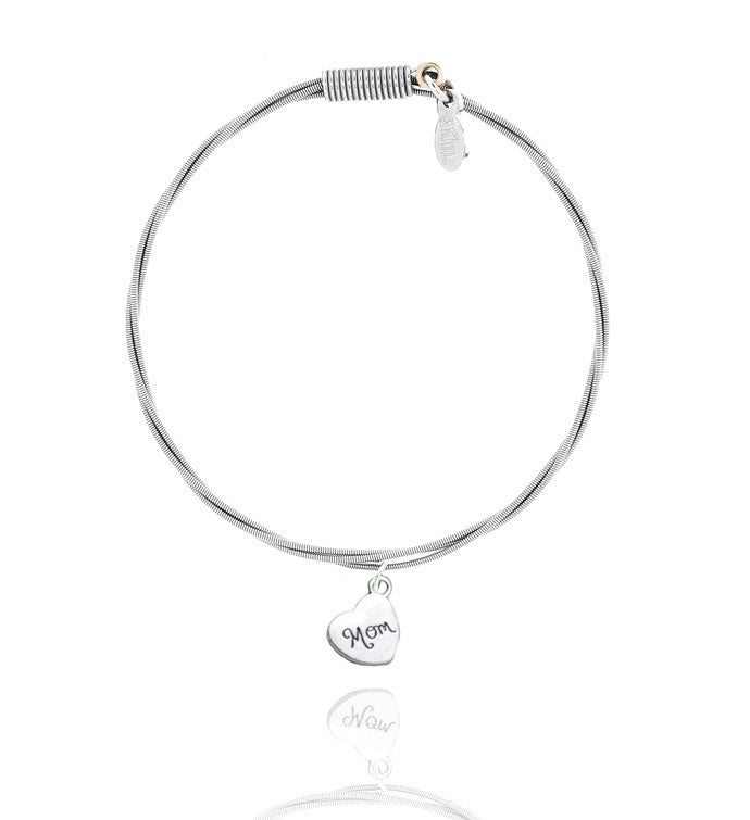34A Song For Mama34 - Guitar String Bracelet