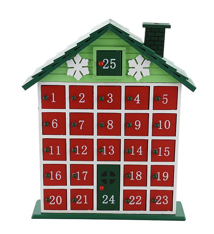 Rustic Cabin Advent Calendar