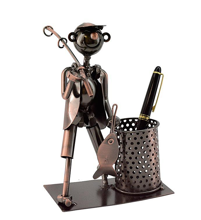 Fisherman Pen Holder