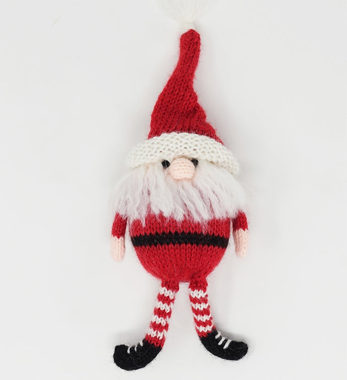 Santa with Legs Ornaments