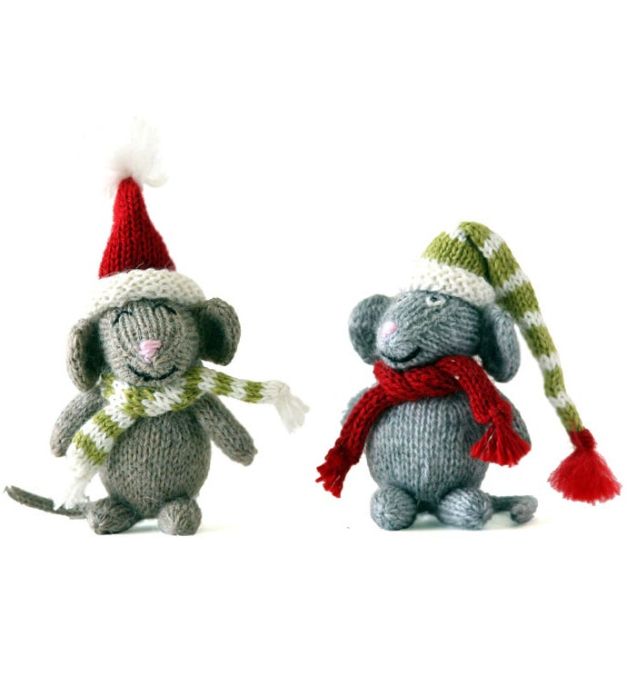 Mice Ornaments