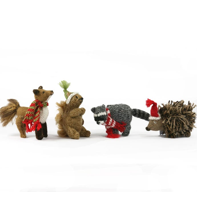 Woodland Animal Ornaments