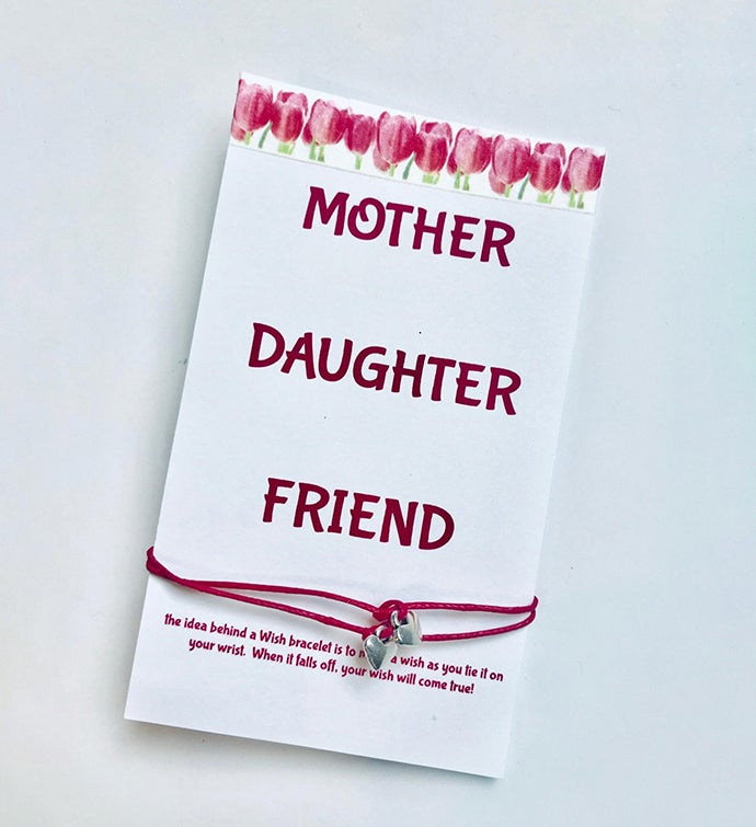 Mom Daughter Friend Wish Bracelet