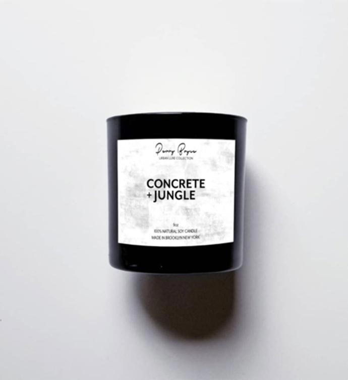 100 Natural Soy Candle - Concrete  Jungle
