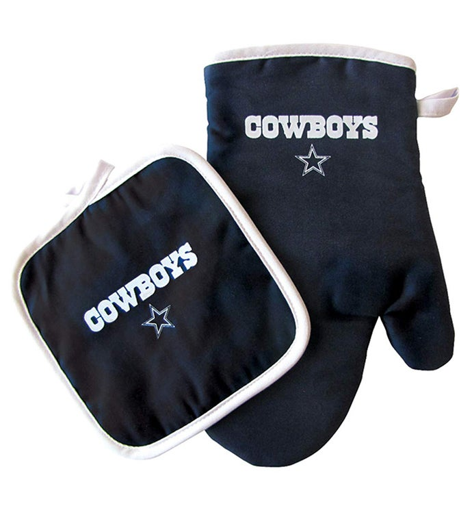 NFL Oven Mitt  Pot Holder Set