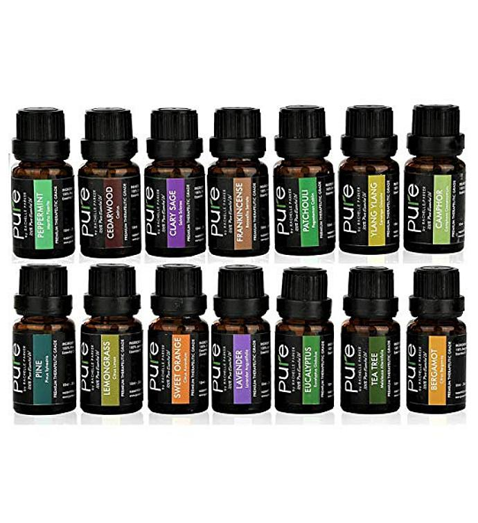 14 Essential Oils Set Variety Pack