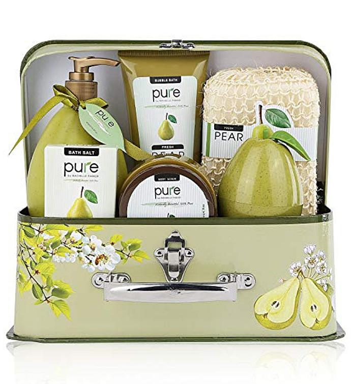Large Pear Luxury Gift Basket
