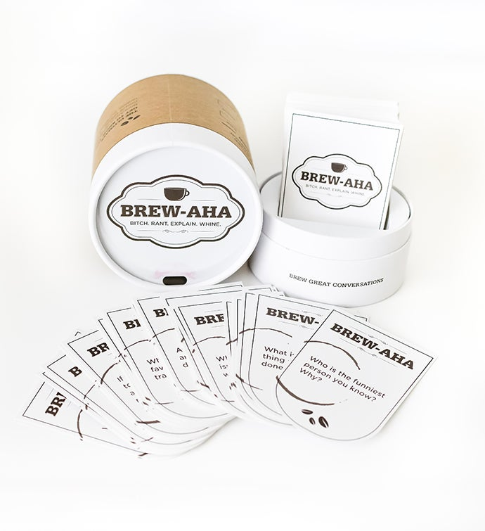 Brew-aHa  Conversation Card Game