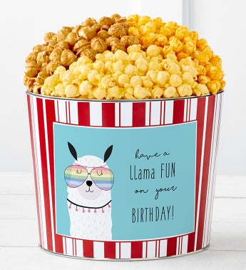 Tins With Pop Have A Llama Fun Birthday