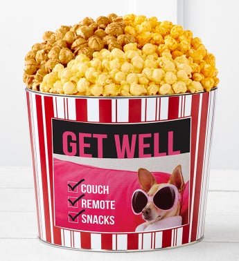 Tins With Pop Get Well Couch Remote