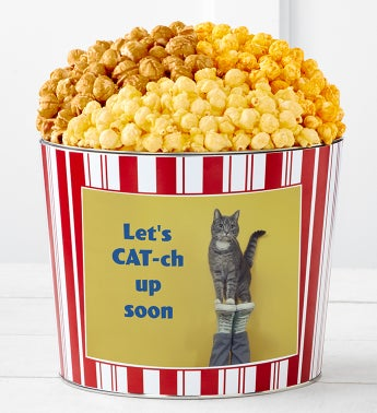 Tins With Pop Lets Cat-Up Soon