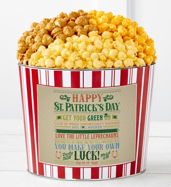 Tins With Pop Happy St Patricks Day